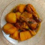 תבשיל חורפי ומיוחד: עוף ותפוחי אדמה