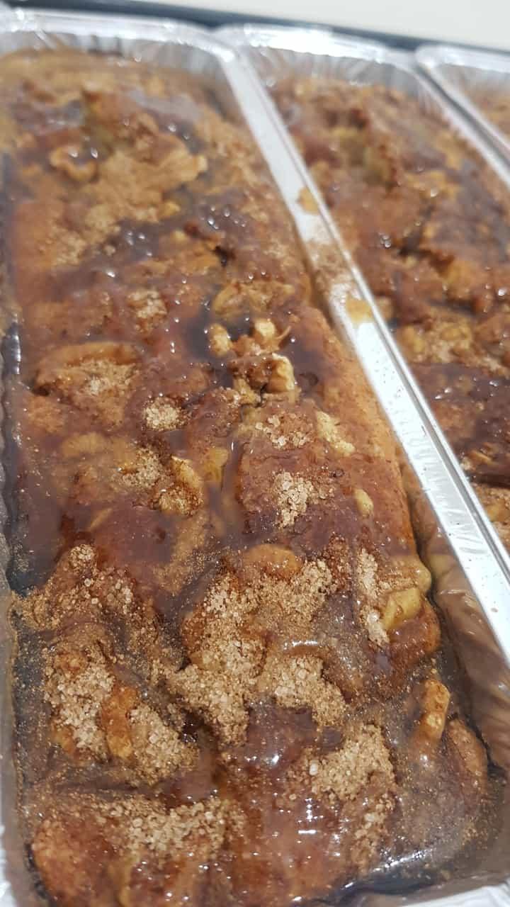 לכבוד שבת קודש: עוגה ב5 דק' בחושה מייפל קינמון ואגוזים