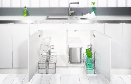 פותחים ארון, דרכי אחסון יצירתיות במטבח