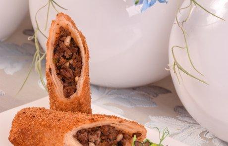 טורטייה במלית בשר וכבדים