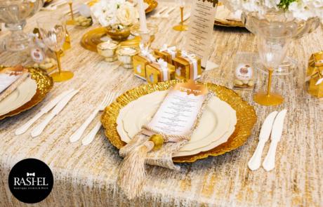 ראשל אירועים מגישה: מבחר רעיונות לעיצוב שולחן חג  עם מתנה מיוחדת להדפסה ביתית