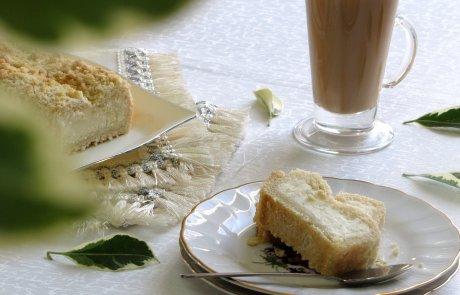 עוגת שמרים גבינה/ ברוכי קופטייל