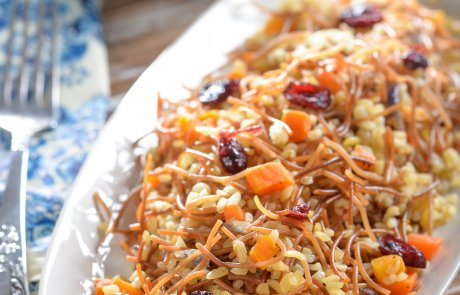 תבשיל בורגול עם אטריות וגזר / ליאורה כהן