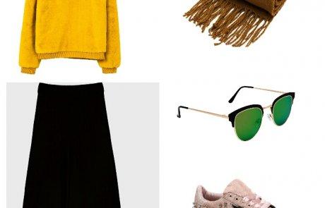 איך ללבוש בכמה דרכים סוודר צבעוני….