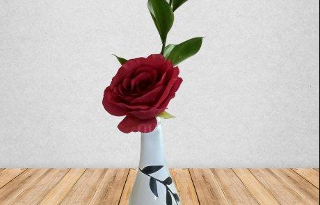 DIY אגרטל מבקבוק יין /מירי גולד