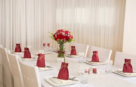 עיצוב שולחן מושלם לערב לביבות בחג האורות:)