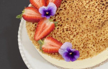 עוגת קרם ברולה חגיגית /מזל פנחס