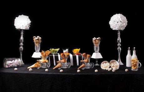 מיוחד לסעודת פורים – חגיגת קונוסים בכל הטעמים מלוחים ומתוקים:) בהגשת מינדי רפלוביץ