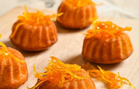 עוגה קלה לצאת הצום: עוגה בחושה בסירופ תפוזים וקליפות תפוזים מקורמלות /השפית ליאורה כהן