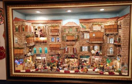 צפו בגלריה מדהימה: כשילדה בת 10 משכונת גאולה מתגלה כאמנית לקישוטי סוכה