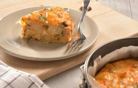 אומלט תפוחי אדמה,קל טעים ומזין / השפית ליאורה כהן