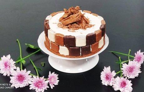 עוגת מסקפורנה וחטיפי וופל מצופים /השפית ליאורה כהן