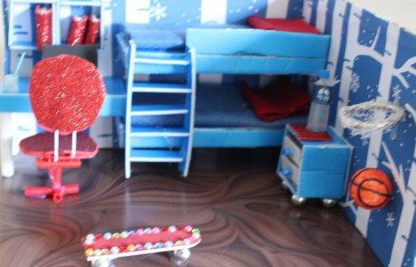 DIY תעסוקה לכל המשפחה, מיניאטורה חדר ילדים / רותי היאט