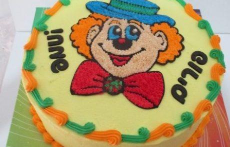 תמר חשין מגישה: ליצן קטן שלי:) הדרכה מצולמת להכנת עוגת ליצן מיוחדת!