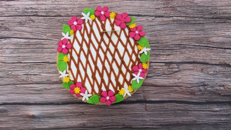 עוגת גבינה עם תחתית בצק מלוח / באשי ארליך