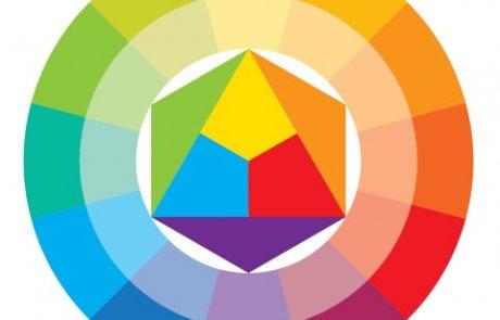 התאמת צבעים בעזרת גלגל הצבעים