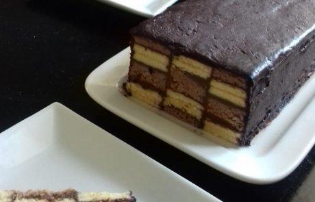עוגת שחמט מרשימה וטעימה:)