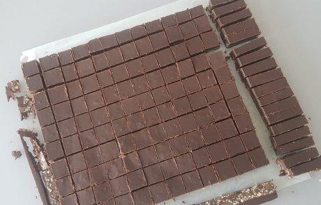 ממכר: חיתוכיות שוקולד ושקדים / רות ברכה