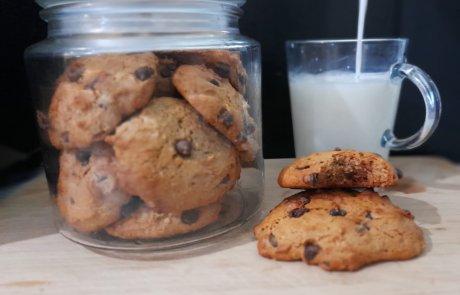 בלי לוותר על הטעם: עוגיות שוקולד צ'יפס בריאות