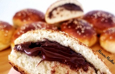 לחמניות הפתעה במילוי שוקולד/ מירב מלכה