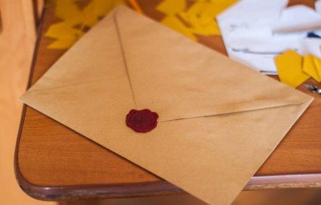 תרגיל מעניין: תשמרי את החלום שלך במעטפה:)