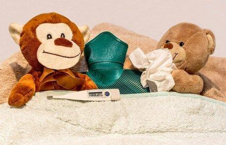 החורף כבר כאן – איך להרדים את הילד בזמן מחלה ?