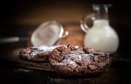 עוגיות שוקולד פאדג' נימוחות