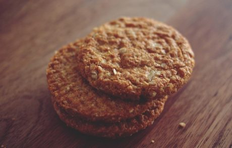 עוגיות קוואקר וקינמון