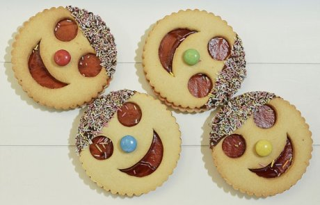 פורים בפתח, תפתיעי את הילדים עם עוגיות מחופשות