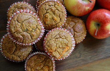 מאפינס קוואקר ותפוחי עץ- גם עם קוואקר אפשר להכין מאפינס טעימים…