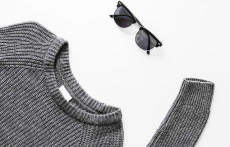 איך ללבוש סוודר רחב בצורה מחמיאה