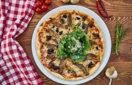 פיצה מבסיס כרוב.  דיאטטית ו..טעימה..