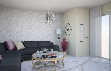 4 טיפים פשוטים לסלון מעוצב ופרקטי:)