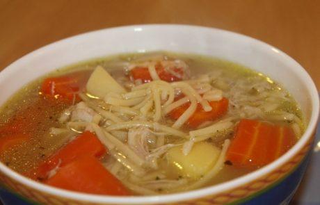 מרק עוף עם ירקות- מושלם לשבת חורפית…