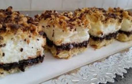 המתכון של חני אסתי וייסמן: עוגת קצפת ברוטב קפה
