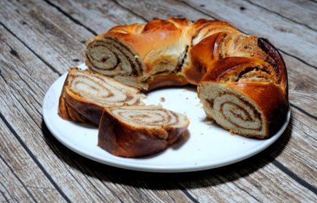 עוגת שמרים לכבוד שבת:)